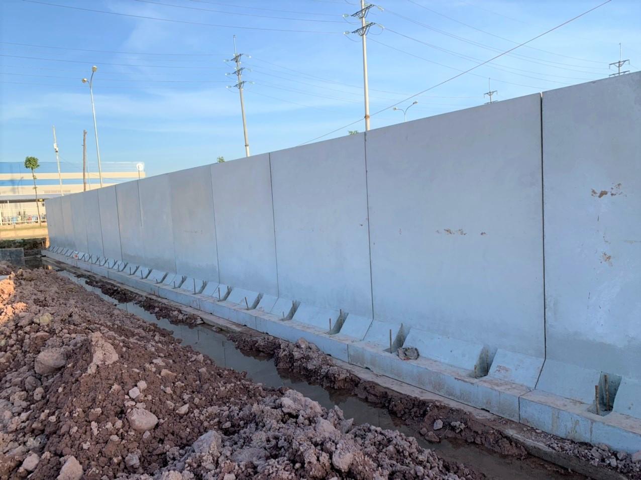 Tường rào dự án ORG - Bắc Giang